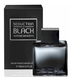 Seduction in Black de Antonio Banderas Masc Eau de Toilette - 100ml